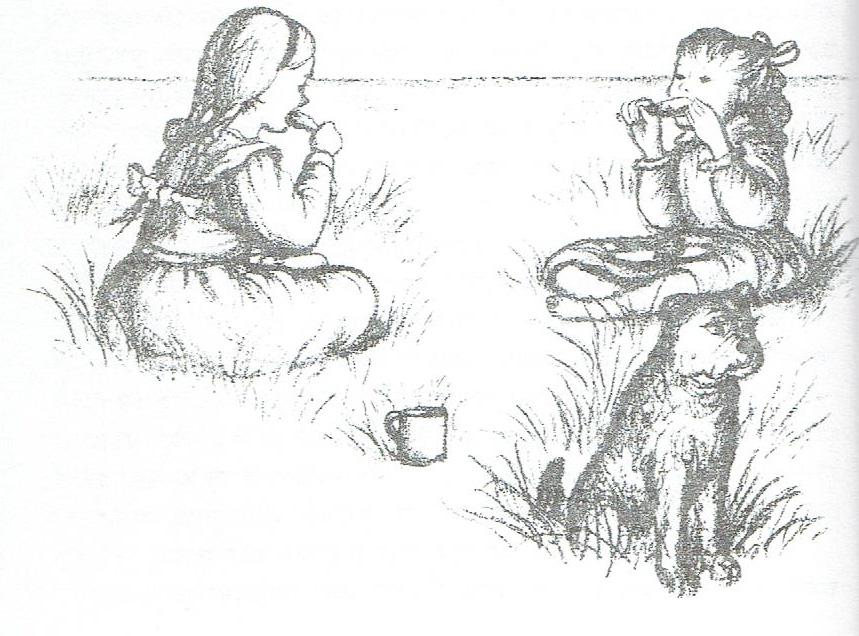 לורה ומרי אינגלס בית קטן ביער גדול