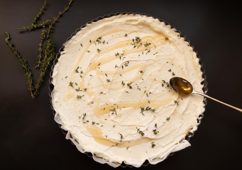 עוגת גבינה, יוגורט ודבש אוטולנגי