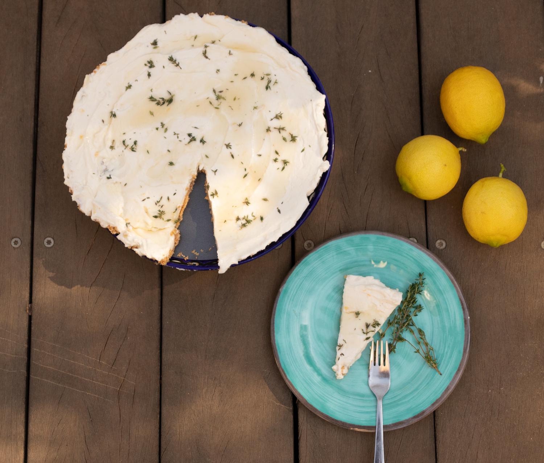 עוגת גבינה יוגורט ודבש של אוטולנגי