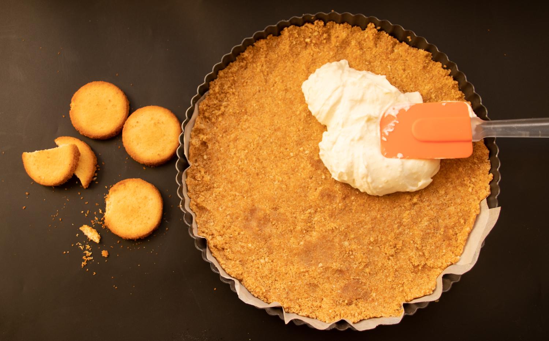 עוגת גבינה יוגורט ודבש אוטלנגי הכנה