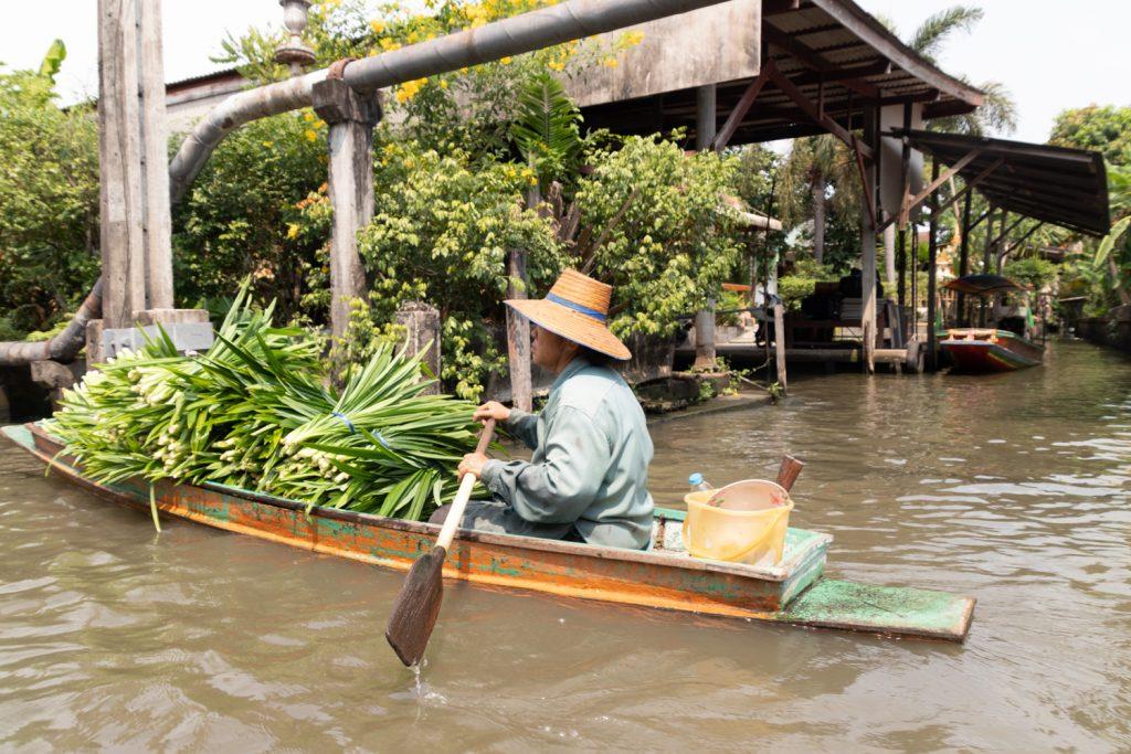 השוק הצף בנגקוק