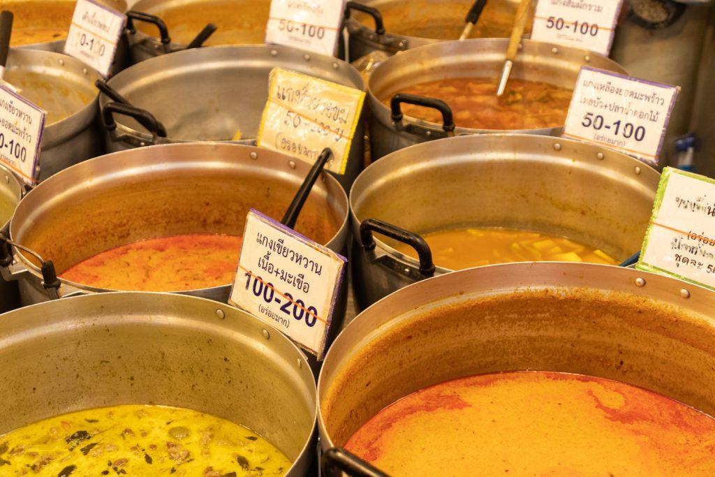 שוק האוכל בנגקוק