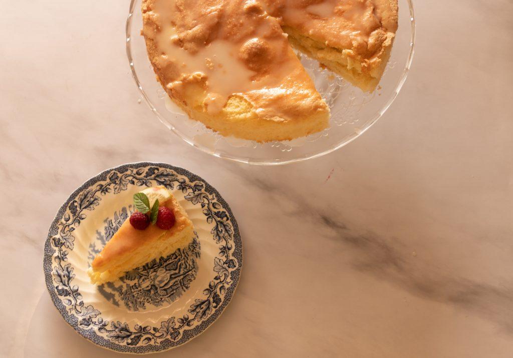עוגת לימון מתוך אפשר גם בלי קוויאר