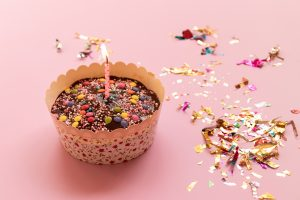 קאפקייק יום הולדת שנה למטבח קריאה