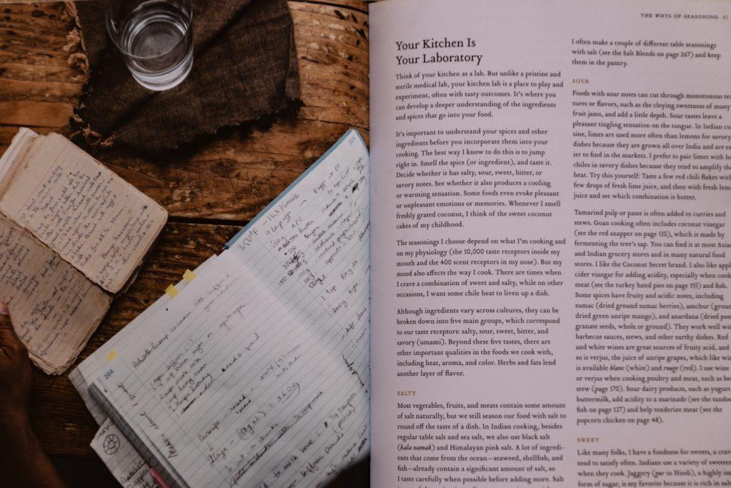 דפים פנימיים מספר הבישול Season