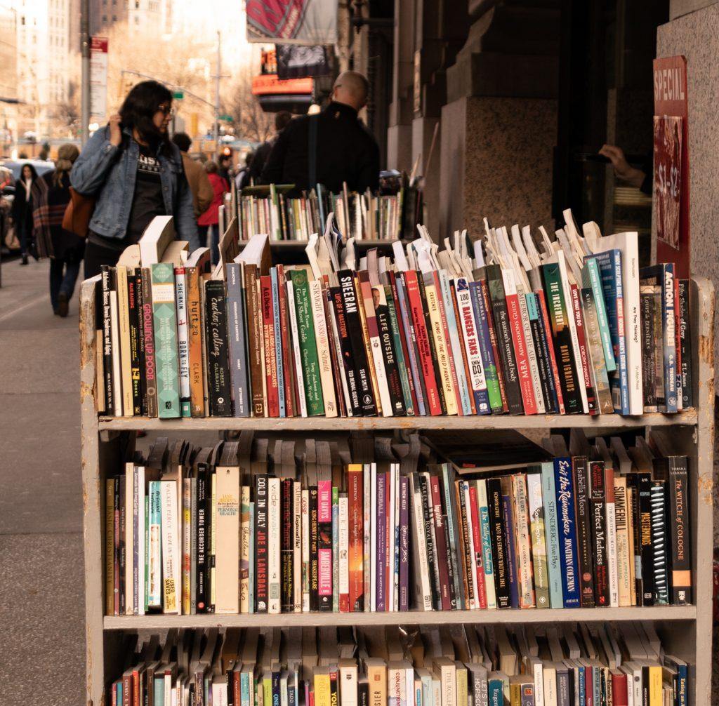 עגלת ספרים סטרנד