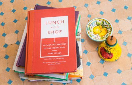 צהריים בחנות הספרים: קריאת בישול ב-Lunch at the Shop